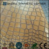 Pearly Coating PVC Material couro sintético para sofá / sacos / sapatos