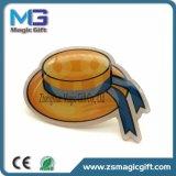 금속 접어젖힌 옷깃 Pin를 인쇄하는 선전용 OEM 주문 공짜