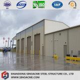 Edificio modular de la construcción estructural de acero industrial/vertido para África
