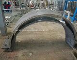 Нержавеющая сталь отрезока лазера пефорировала подгонянную листом панель нержавеющей стали