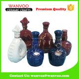 Botella de vino de cerámica del mejor precio de la alta calidad de China para el vino de Storaging