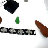 2017 braccialetti unisex di tendenza dell'acciaio inossidabile della traversa dei monili all'ingrosso di Zircon