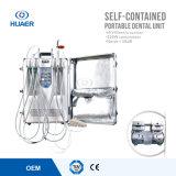 FDA-gebilligtes eingebautes Kompressor-bewegliches zahnmedizinisches Geräten-zahnmedizinische Karre