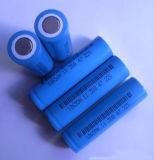 18650 3.7V de Batterij van het 2200mAhLithium voor het Licht van de Toorts met BIB- Certificaat