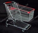 Amerikaans Geschikt het Winkelen van de Detailhandel van de Supermarkt van de Stijl Karretje
