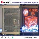P3.75 intérieur/extérieur/P5/P7.5/P10/verre transparent/Fenêtre/Rideau l'écran d'affichage vidéo LED/signer/du mur pour la publicité