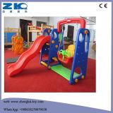 Детский сад детская игровая площадка пластиковые слайд баскетбольная площадка для детей