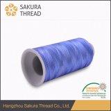 пряжа нити Multicolour рейона резьбы вышивки 120d/2 Viscose