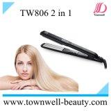 Alisador de cabelo e curlers cerâmicos com display LED digital e voltagem dupla