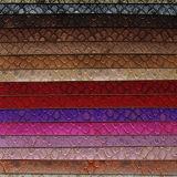 Cuero sintetizado plateado de los bolsos de la PU del oro (F8544)