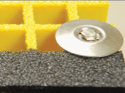 Support de /Fixed de clip de FRP C/brides en acier de clips de râper/formes structurales