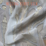 Tela de prata de seda de Lurex, tela de seda de Lurex do ouro