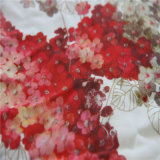 Digital-Drucken für Blumenkrepp mit schwerer Seide