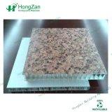 Panneau alvéolé pour façade en granit