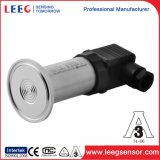 0.5-4.5VDC alta temperatura Sanitaria plana de la membrana del sensor de presión