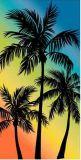 Essuie-main 100% de plage de Velevt de coton (BC-CT13471)