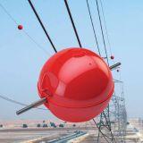 Esfera amonestadora aérea de la línea eléctrica