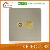 Novo Design 10A 3G 2W Wall Light Control Switch Plate