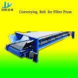 Besserer Klärschlamm-entwässernfilterpresse-Maschine mit der Beförderung des Riemens