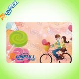 2017의 최신 판매 공백 입히는 플라스틱 회원증 ID PVC 카드