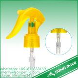 Tampão de parafuso plástico pulverizador de cabeça para baixo do disparador de Mirco do mini para frascos