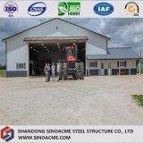 Entrepôt en acier de construction de construction pour cultiver le véhicule