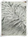Pelliccia falsa del tessuto felpato con il mucchio lungo per l'indumento e la tessile domestica