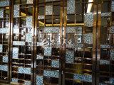 Schwarze Mosaik-Fliese des Lippenmopp-Shell-10*20mm