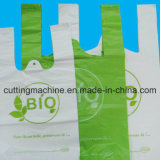 Plastiktasche, die Maschine von der heißen Dichtungs-kalter Ausschnitt-Maschine herstellt