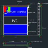 Rotolamento automatico di vendita calda sul portello ad alta velocità elettrico del PVC del portello dell'operatore