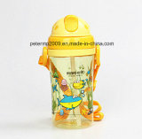 370мл Food Grade Cute пластиковые мультфильм Colorfulkids Бутылка воды