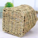 (BC-SF1019) respetuoso del medio ambiente natural hecho a mano de paja cesta de la flor