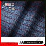 Tessuto di lavoro a maglia del denim di Patern dell'assegno rosso per i pantaloni