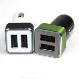 Заряжатель автомобиля цены по прейскуранту завода-изготовителя 2.4A/3.1A с двойным портом USB
