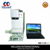 Machine d'inscription de laser de fibre de commande numérique par ordinateur (VCT- FPV)