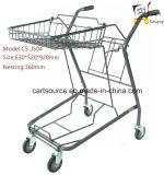 Japanisch Zwei Körbe Bianjiexing Warenkorb Einkaufen Trolley