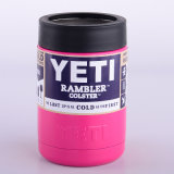 Frete Grátis Colorido 304 Aço Inoxidável Yeti Rambler Tumbler 12oz 20oz 30oz Yeti Cup com tampa clara