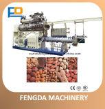Doppelschrauben-Nassdampf-Zufuhr-Extruder für Aquafeed und Viehbestand-Zufuhr--Zufuhr-Verdrängung-Maschine
