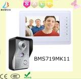 Intercom de Handfree sonnette visuelle de téléphone de porte de 7 pouces