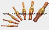 Abkühlung-Kugelventil, Absperrventil mit Gas-Gatter, schloß Ventil, Carging Ventil