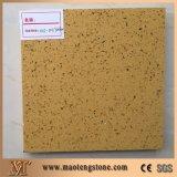Pedra artificial Sparkling de quartzo de Brown da melhor qualidade para bancadas