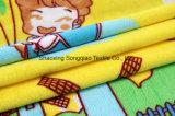 Franela impresa del poliester/tela coralina del paño grueso y suave - 13240-9 2#