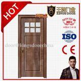 خشبيّة داخليّة صلبة خشبيّة لوح [بفك] زجاج باب