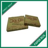12 인치 브라운 주문 인쇄를 가진 물결 모양 피자 상자 최신 판매