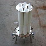 Cartucho de acero inoxidable sanitario la caja del filtro