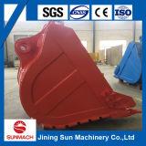 Cubeta padrão R290 1.45cbm da máquina escavadora para a venda