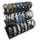 Boîte d'affichage en acrylique C Clip Watch Boîte d'affichage en plastique Btr-F1004