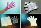 高速プラスチック使い捨て可能な手袋機械