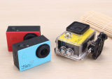 Wasserdichte Vorgangs-Kamera 4k der HD Auflösung-30m mini wasserdichter Sport-170 Weitwinkelvorgang des Grad-realer 4k