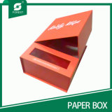 Caixa de presente de papel de papelão de tamanho personalizado extravagante